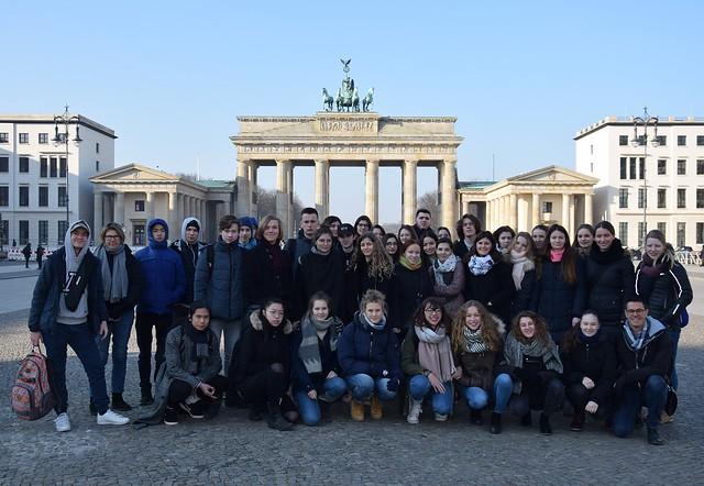 Les élèves du lycée Jean Puy ont rencontré leurs correspondants allemands à Berlin