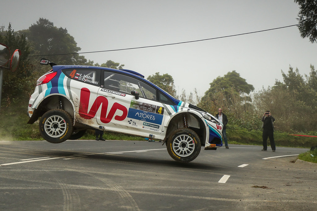 04 HABAJ Lukasz (pol), DYMURSKI Daniel (pol) , RALLY TECHNOLOGY, FORD FIESTA R5, action during the 2018 European Rally Championship ERC Azores rally,  from March 22 to 24, at Ponta Delgada Portugal - Photo DPPI