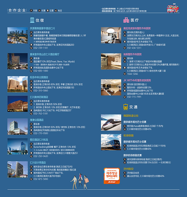 仁川觀光巴士路線圖-6