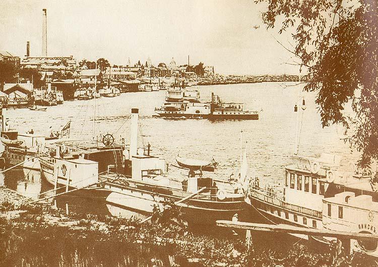 Киевские пароходы