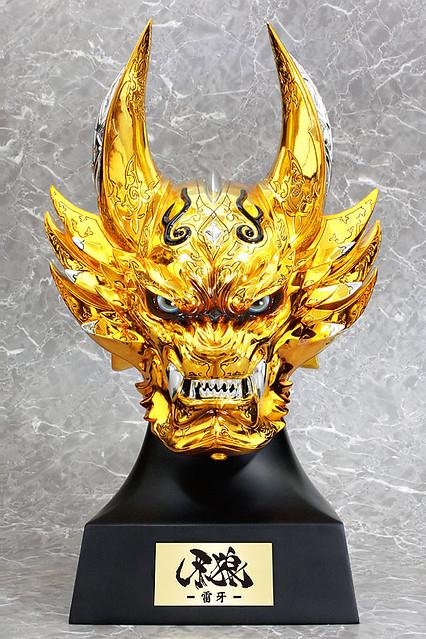 Art Storm《牙狼<GARO>魔戒之花》 「黄金騎士GARO 雷牙」1:1 頭像作品!黄金騎士ガロ-雷牙- ヘッドモデル