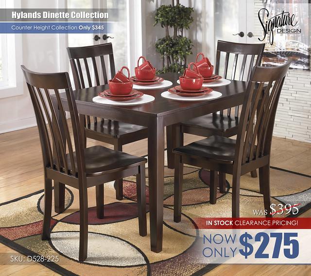 Hylands Dining D258-225
