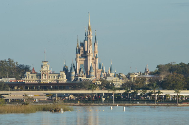 Cinderella's Castle from the Ferryboat