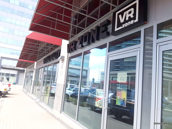 VR Zone storefront