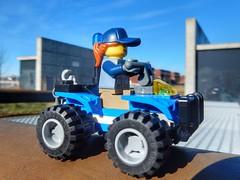 Lego police quad
