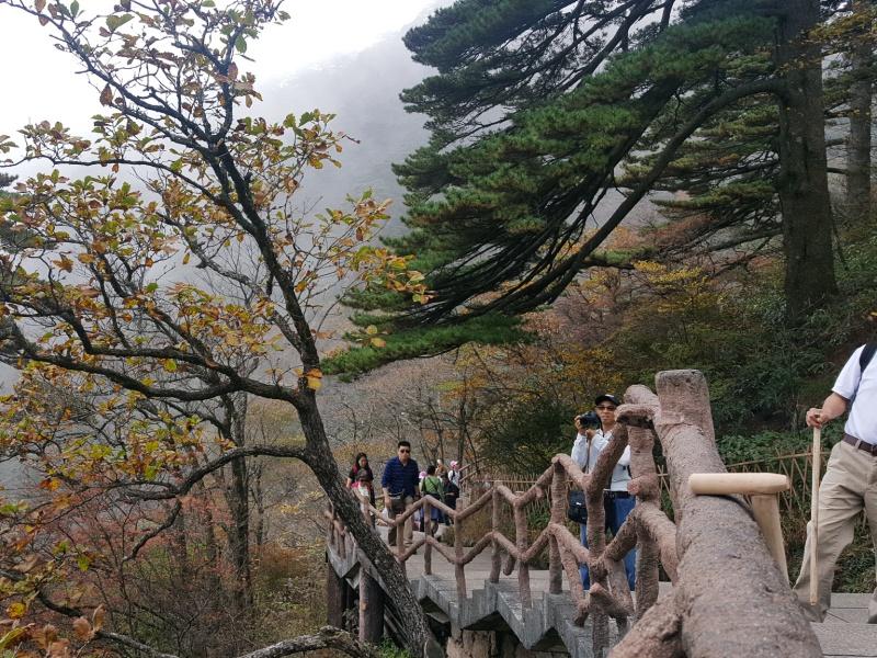 Huangshan Hiking