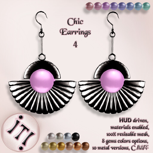 !IT! - Chic Earrings 4 Image - TeleportHub.com Live!