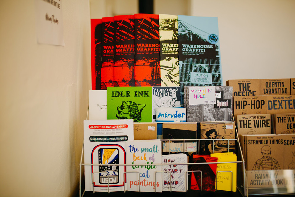 Type Slowly & Warren Records Shop. Photo © Tom Arran.
