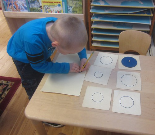 matching and tracing circles
