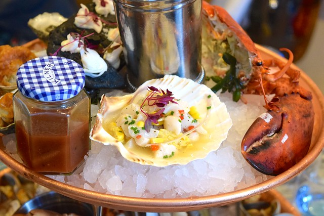 Ceviche at Fancy Crab, Marylebone