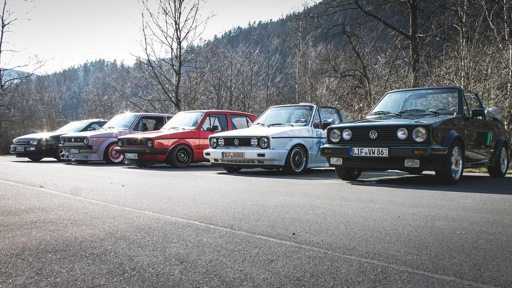 VW Golf Mk1 GTI & Cabrio & Mk2 Cabrio & Corrado