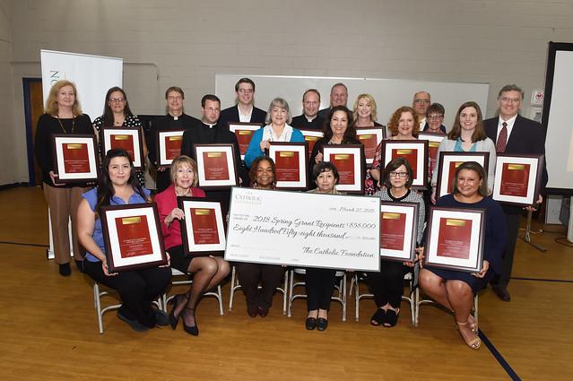 2018 TCF Spring Grant Ceremony at Cristo Rey