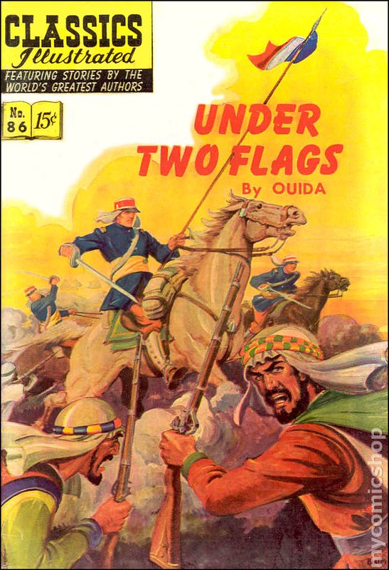 Under Two Flags - Book cover