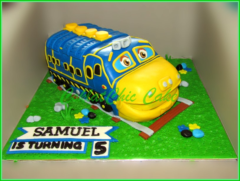 Cake Chuggington SAMUEL 18 cm