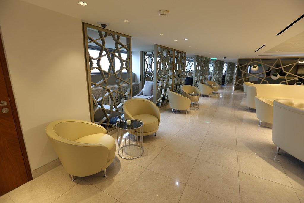 Qatar lounge at Paris CDG 38