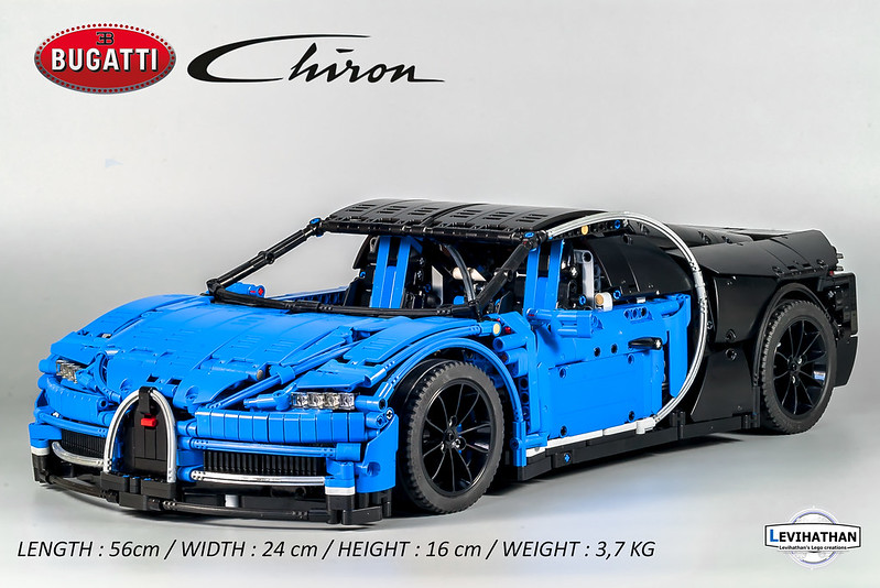 bugatti chiron 1 8 lego technic and model team. Black Bedroom Furniture Sets. Home Design Ideas