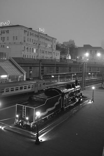 Vladivostok Station in early morning 15-04-2018 (2)