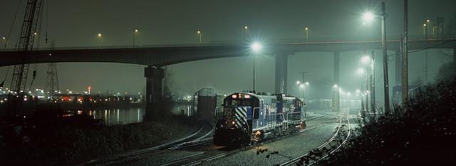 Misty Railyard