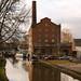 Hovis Mill from Buxton Road bridge, Macclesfield