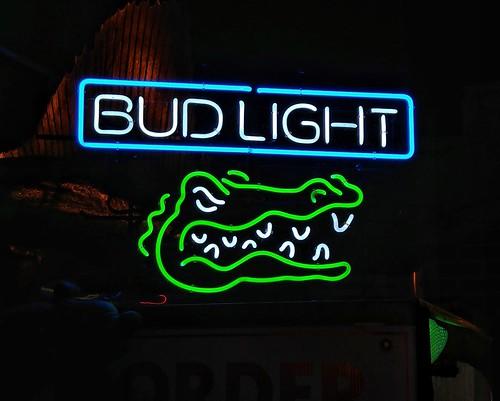 Neon Sign - Bud Light - Florida Gators