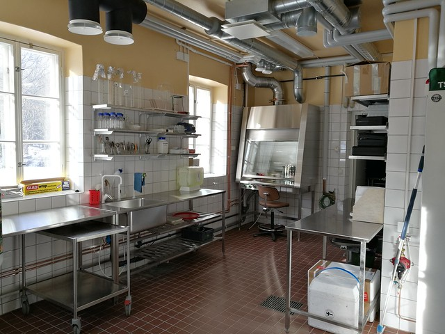 Seili sea water laboratory