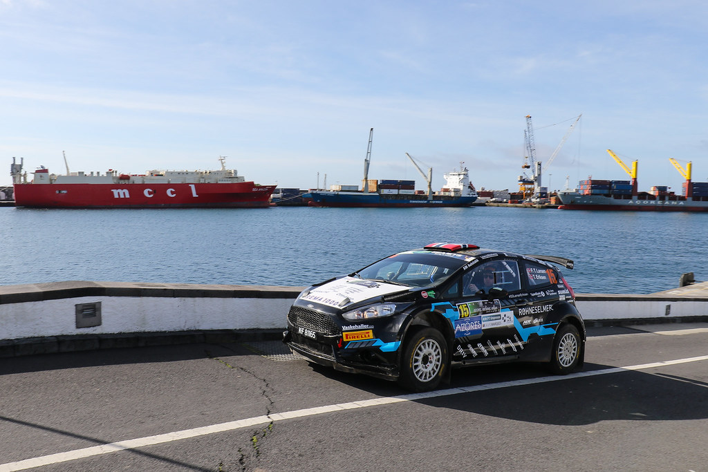 15 TORE LARSEN Frank (nor), ERIKSEN Trosten (nor), FORD FIESTA R5, portrait during the 2018 European Rally Championship ERC Azores rally,  from March 22 to 24, at Ponta Delgada Portugal - Photo Jorge Cunha / DPPI