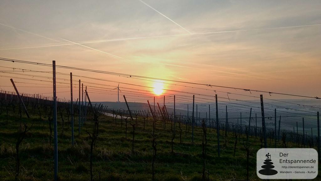 Sonnenaufgang über dem Selztal zwischen Zornheim und Sörgenloch