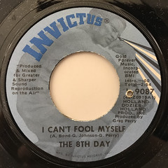 THE 8TH DAY:SHE'S NOT JUST ANOTHER WOMAN(LABEL SIDE-B)