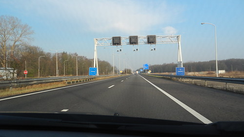 A3, border between Germany and Netherlands [08.03.2014]