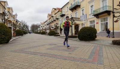 Štěpán Dvořák zahájil více jak 600 kilometrový běh ze západu na východ republiky