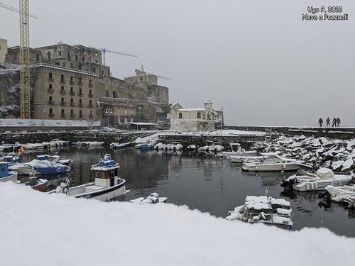 """""""Nevica!"""" (Napoli e Pozzuoli)"""