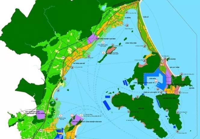Sơ đồ quy hoạch Bắc Vân Phong