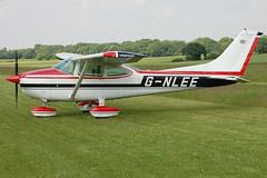 G-NLEE Cessna 182Q (182-65934) Popham 080608