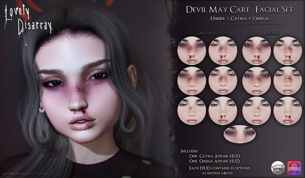 Devil May Care : Facial Set | Unisex @ BodyFy - TeleportHub.com Live!