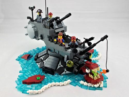"""""""Gamera"""" Class Destroyer"""