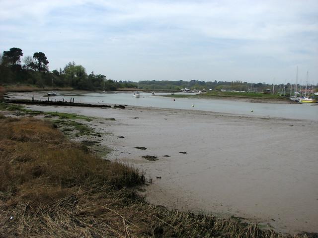 The River Deben near Melton