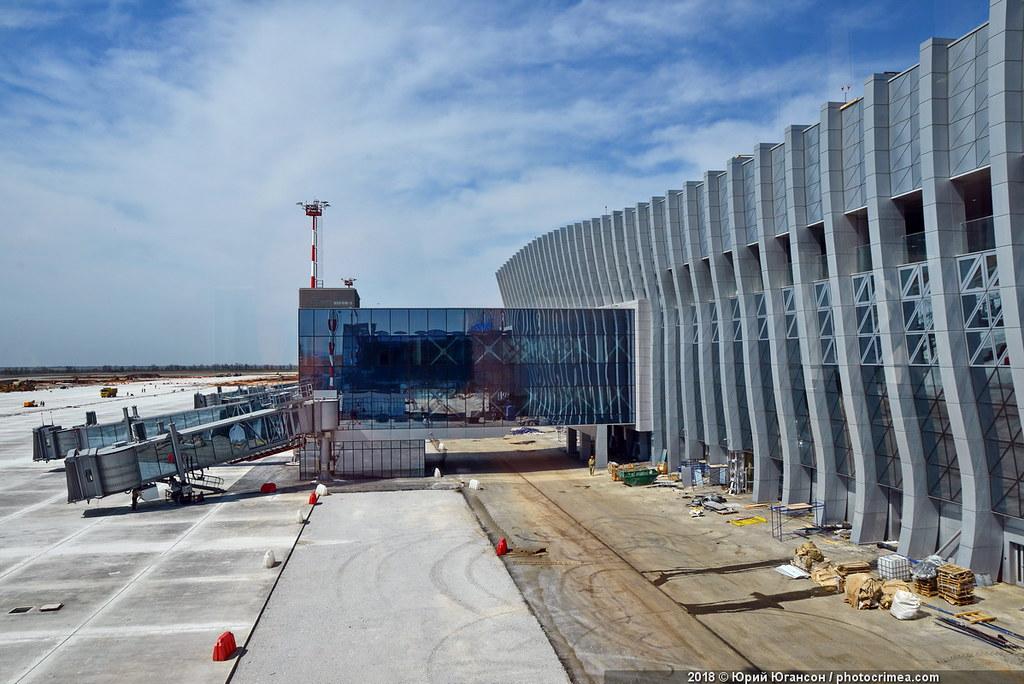 Новый терминал Аэропорта Симферополь открыт!