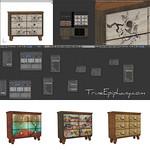 Vintage Dresser Blender 3D