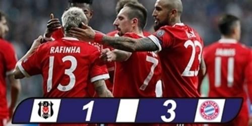 Bayern Muenchen Berhasil Menyingkirkan Besiktas