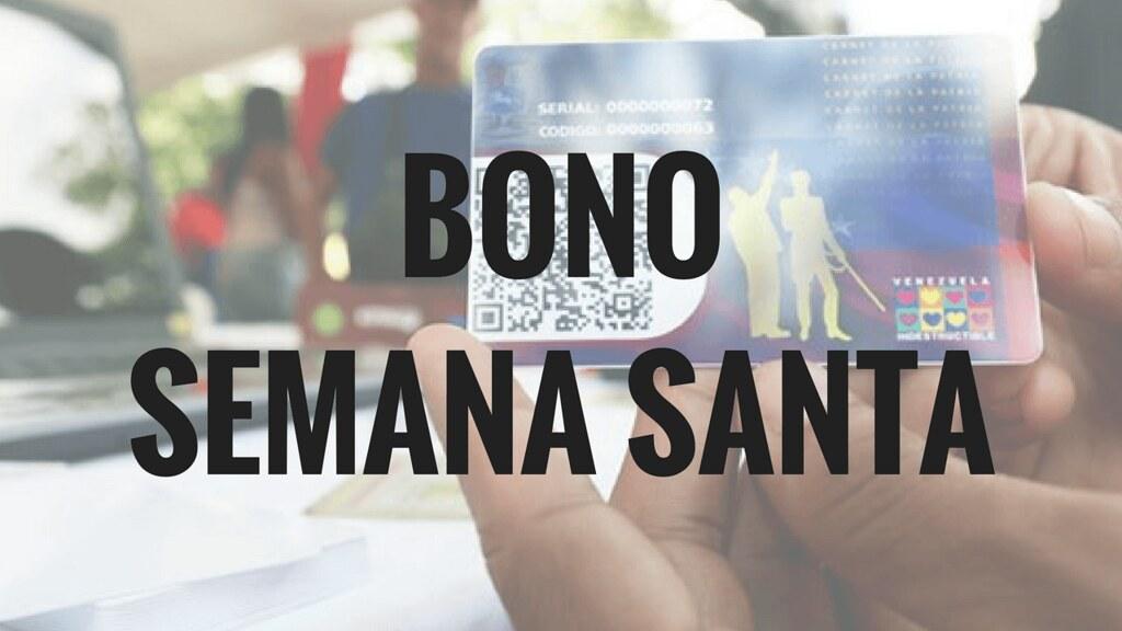 Registrarse Bono de Semana Santa
