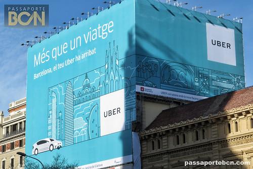 uber em barcelona