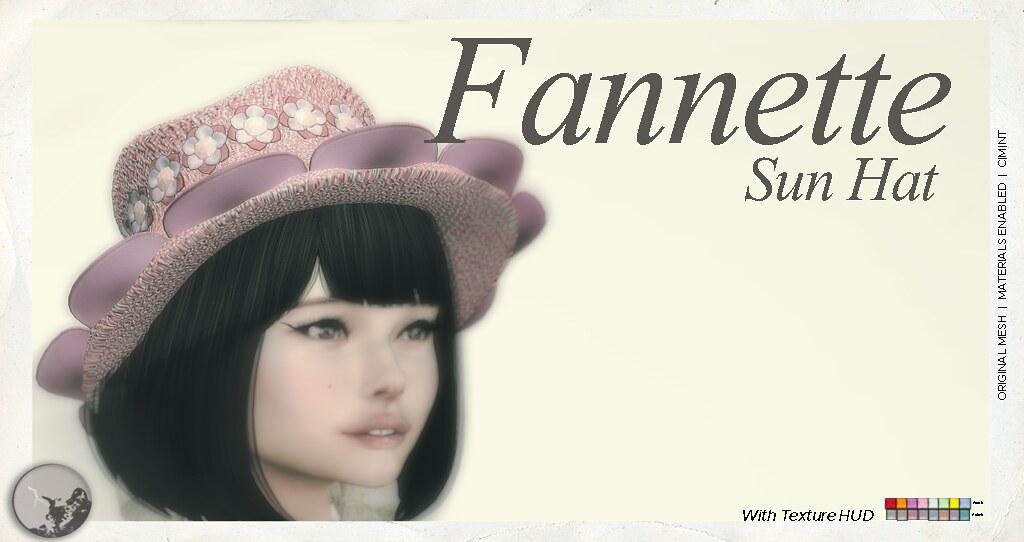 Fannette Hat - TeleportHub.com Live!