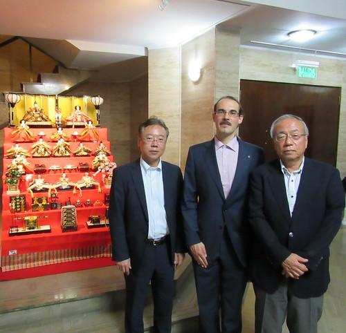 Cena en la residencia del excelentísimo embajador de Japón en Paraguay, sr. Ishida Naohiro