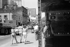 Yonge and Dundas, Toronto, 1985
