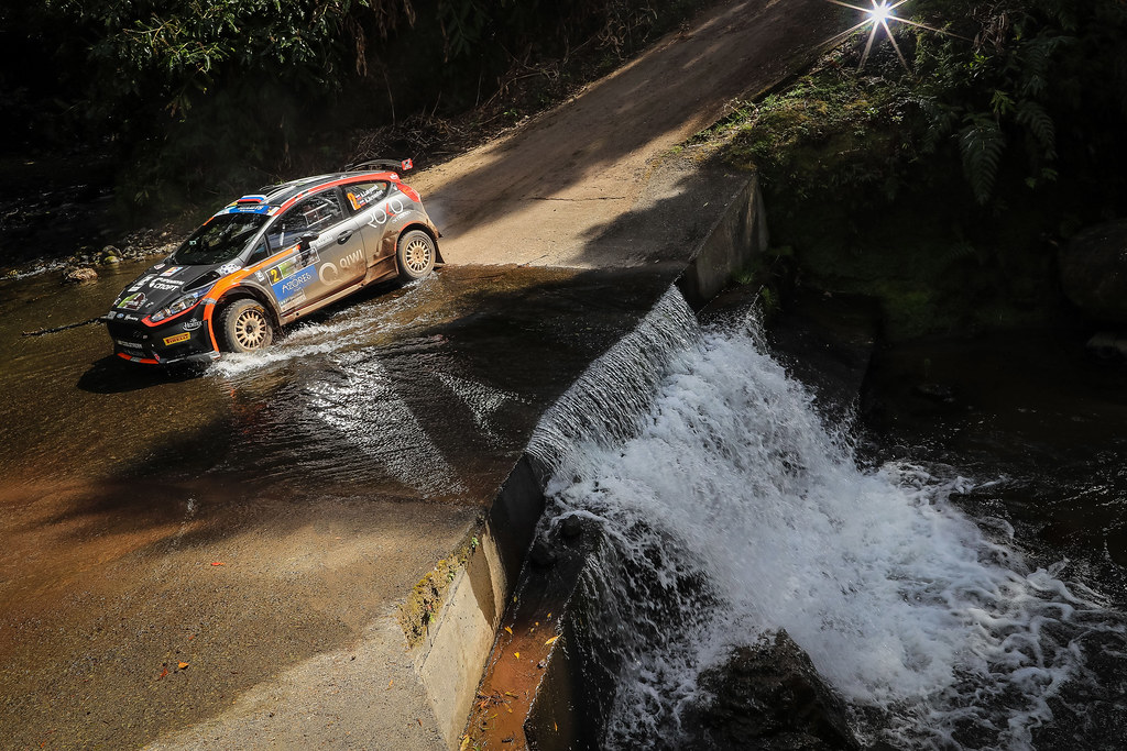 02 LUKYANUK Alexey (rus), ARNAUTOV Alexey (rus), RUSSIAN PERFORMANCE during the 2018 European Rally Championship ERC Azores rally,  from March 22 to 24, at Ponta Delgada Portugal - Photo Jorge Cunha / DPPI