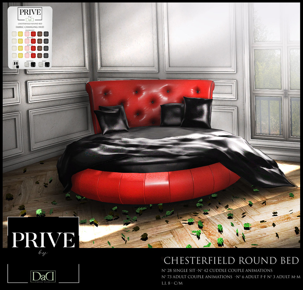 Chesterfield Round Bed