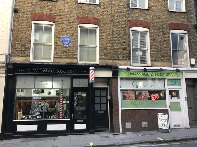 Pall Mall Barbers, and spa