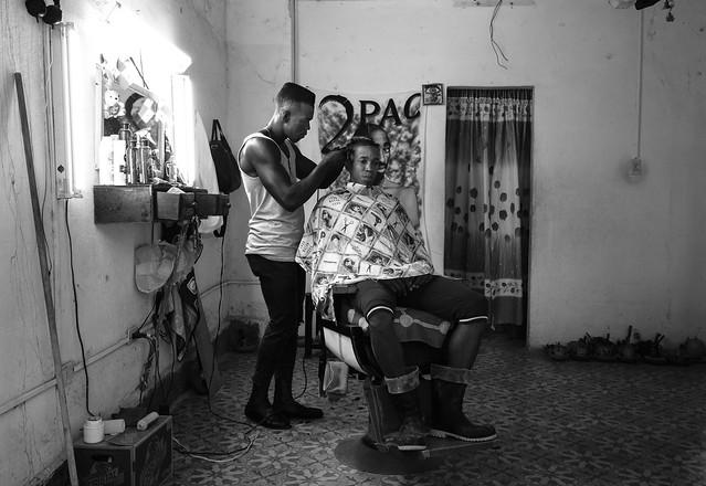 Havana barbershop, Fujifilm X-T2, XF10-24mmF4 R OIS