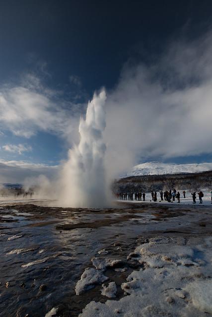 Strokkur, Iceland, February 2018