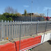 Bloxwich Station - Level crossing closed on Central Drive